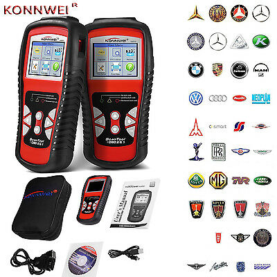 KW830 OBDII OBD2 EOBD Scan Tool Auto Diagnostic Scanner Same as AL519