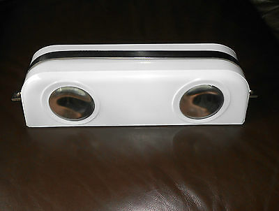 Vintage SNCF French railway carriage glass light cover  convert to wall light ?