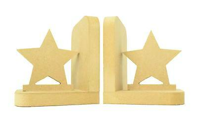 Home Decoration Book Ends Childrens Bedroom Boys Girls Nursery - Star E50