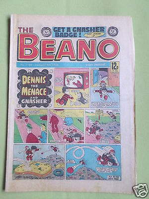 The Beano  - Uk Comic - 4 Aug 1984  - #2194