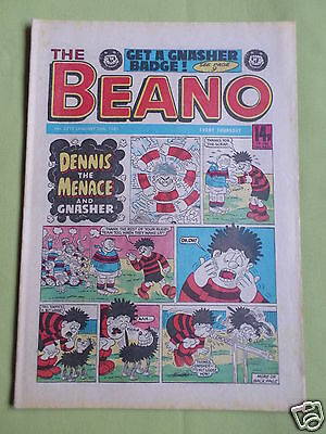 The Beano  - Uk Comic - 26 Jan 1985  - #2219