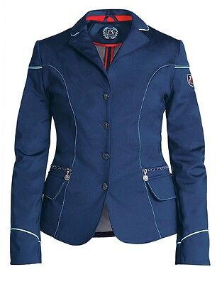 New!!! Fair Play Viki Ladies Navy Softshell Competition/show Jacket