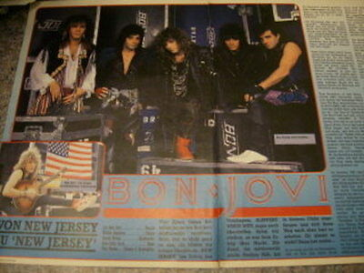 Bon Jovi German Clippings Packet #14