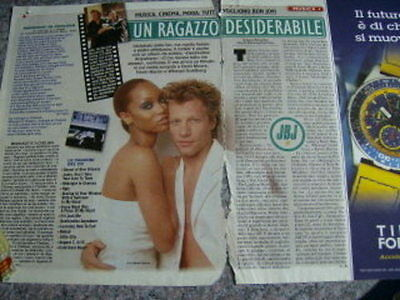 Bon Jovi Italian Clippings #10-3 Covers- Richie Special