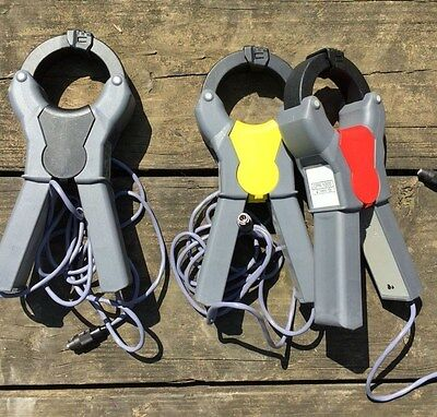 (3) replacement IDEAL CPR-1000 CLAMPS for power analyzer 61-805 multi meter