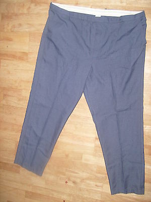 "Mens boys smart blue Office//Work trousers 28"" waist Long Leg 34"" NEW  (CL14)"