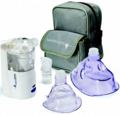 Brand New Lumiscope Rechargeable Portable Nebulizer Kit
