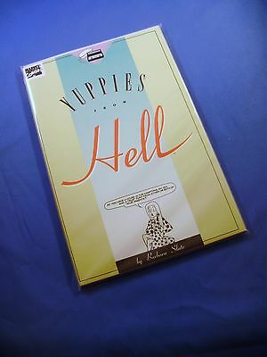 MARVEL COMICS YUPPIES FROM HELL Vol. 1 No. 1 1989 NM Second Printing TPB 45 pp