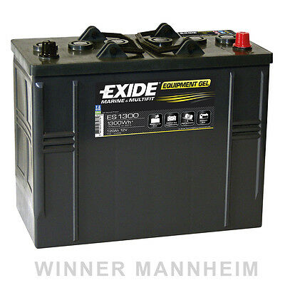 Exide Equipment Gel ES1300 12V 120Ah G120S Gel Batterie Akku Solar Antrieb 1300W