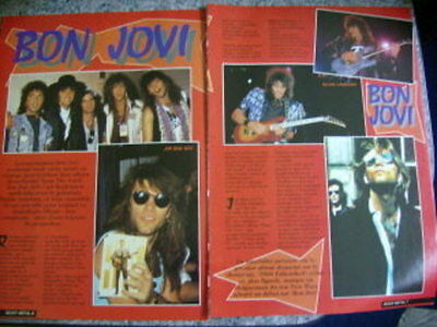 Bon Jovi French Clippings #15 Great Pictures