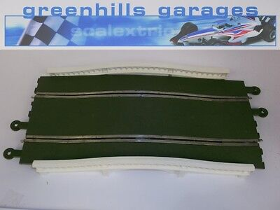 Greenhills Scalextric Classic Track Hump back bridge green with parapets C248 Us