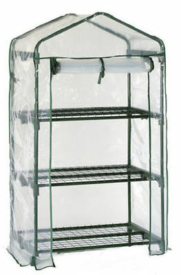 3 Tier Cold Frame Mini Greenhouse Coldframe Pvc Cover Garden Outdoors Plants