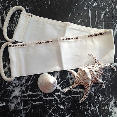 Back Scrubber 100%Natural Turkish Exfoliating Bath Hamam Peeling Kese E