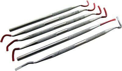 6pc Stainless Steel Probe Pick Set - Tooth Archaeology
