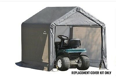 ShelterLogic Replacement Cover Kit 6x6x6 Peak Gray 90500,800425 for model 70401