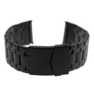 Steel Black Bracelet Band for Evo Seal Colormark 23mm Luminox Watches - 3050ST
