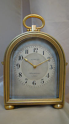Fully Restored LEROY & CIE HUMPBACK Case Petite Sonnerie Carriage Clock