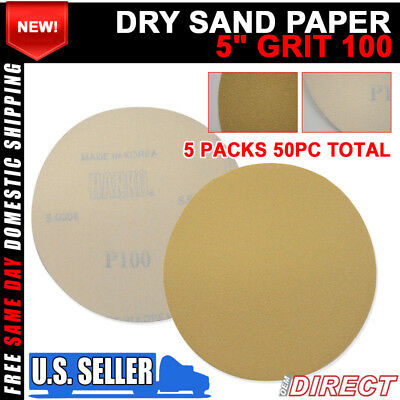 X100 PCS DRY Auto Collision Repair Sanding Paper Sand Sheet