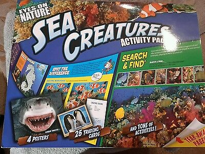 EYES ON NATURE: Sea Creatures Kids Books Hardcover - $10 00