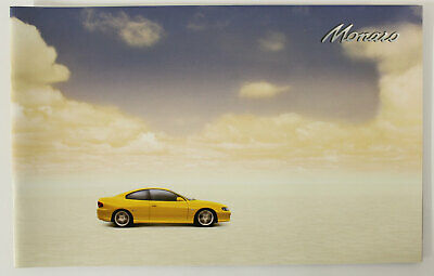 Holden Monaro V2 Coupe Sales Brochure Memorabilia Man Cave Yellow 24 Pages