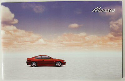 Holden Monaro V2 Coupe Sales Brochure Memorabilia Man Cave Red 24 Pages