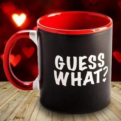 Guess What? I Love You - Heat Changing Coffee Mug | cup tea colour change