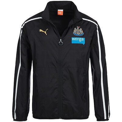 Newcastle United PUMA Walk Out Jacket 745967-01 Football Tracksuit top S-2XL new