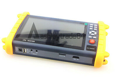 "IPC9600SATC 7"" Touch Screen Onvif IP HD-AHD/TVI/CVI Analog CCTV Camera Tester"