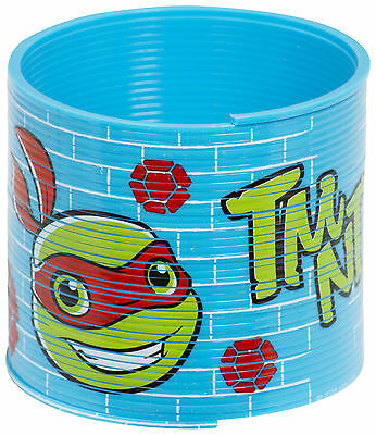 Turtles Half Shell Magic Spring Slinky Coil Kids Fun Party Toy Stretchy Bouncy