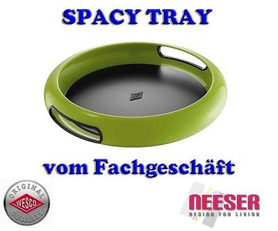 Wesco Design Serviertablett vom Fachgeschäft Spacy Tray in Limegreen 322101-20