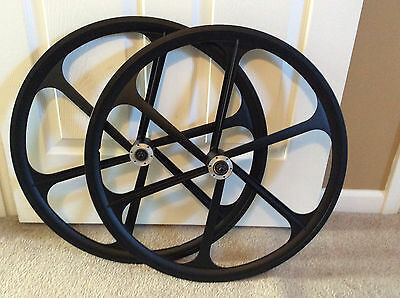 """Teny -559mm/26"""" Mag Alloy Black Bike Rims For 7/8/9/10/11 Gears, Disc Only - NIB"""