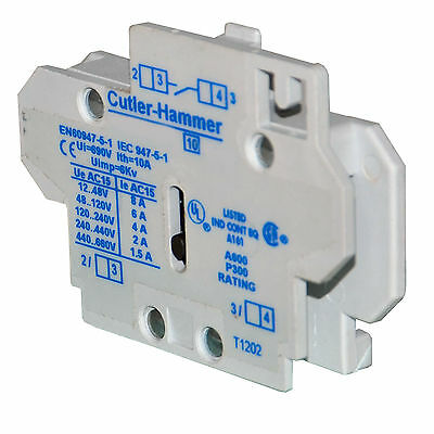 Cutler Hammer C320Kgy27 Auxiliary Contact--Ses