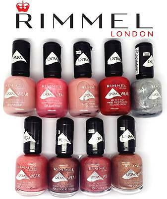 Rimmel Lycra Wear 5 Days Nail Polish Brand New **choose Shade**