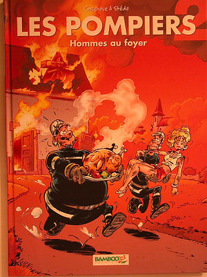 Les Pompiers ** Tome 2 Hommes Au Foyer ** Neuf Cazenove/stedo