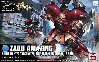 Bandai Hgbf Gundam Zaku Amazing High Grade 1/100 Plastic Model Kit Gunpla