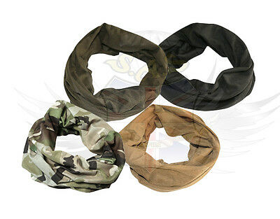 New Kombat Tactical Elasticated Snood,headover,btp,black,coyote,airsoft/surplus