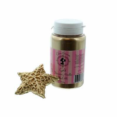 Gold Decorative Metallics Lustre Dust 56.6g By Claire Bowman