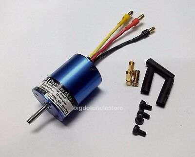 048: 1x B2838 KV3150 580W inrunner Brushless BL Motor for RC 1:14 RC Car, Boat