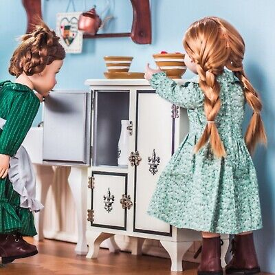 """1930's American Style Icebox,Furniture for 18"""" American Girl Dolls & Accessories"""