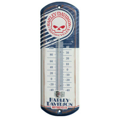 Harley Davidson Skull Mini Thermometer by Ace