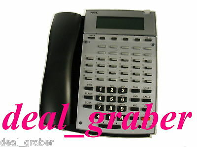 Aspire NEC 34 Button Display IP Phone IP1NA-24BTIXH 0890073 Factory Refurbished