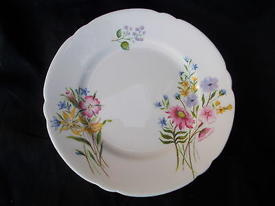 Shelley WILD FLOWERS side plate. Diameter 6 inches