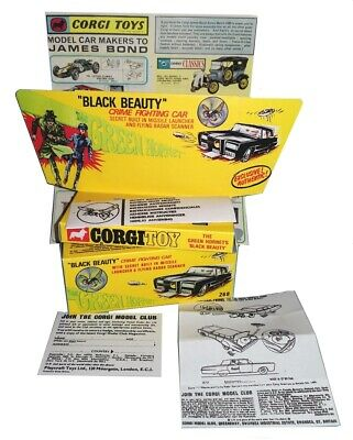 Corgi boîte box repro 268 the green hornet's black beauty