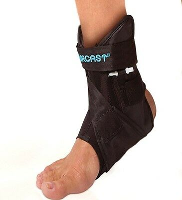 New Donjoy Aircast Airlift Pttd Ankle Brace With Adjustable Comfort Arch