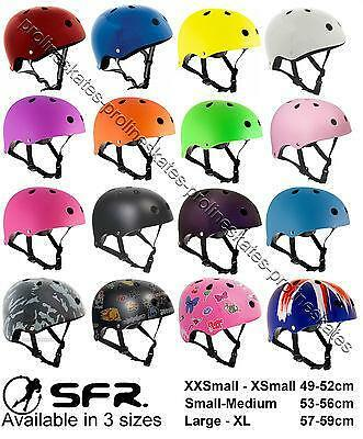 SFR Kids/Junior Scooter/Skateboard/BMX/Inline/Quad/Derby Skates Stunt Helmet
