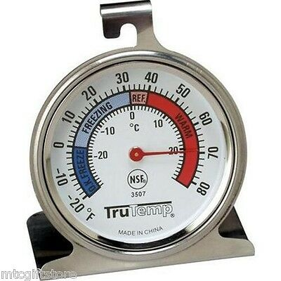 Classic Dial Refridgerator Cooler Freezer Taylor NSF Thermometer # 03507