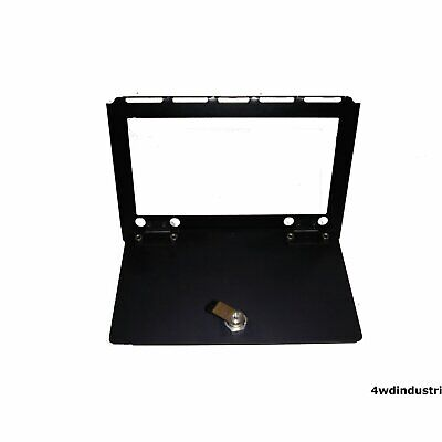 Glove Box BLACK Lockable Land Rover Series 3 & Defender Raptor Engineering