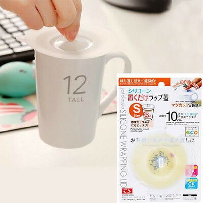Reusable Functional Silicone Sealing Cup Cover Wrapping Lid Kitchen Tool Size S