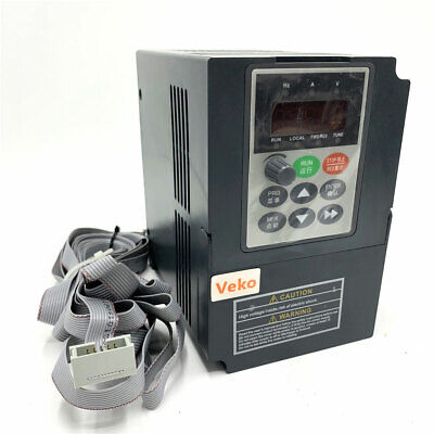 VFD inverter frequency converter 2.2kw 3HP 300hz general 1phase AC220V input 3ph
