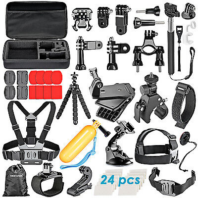 Neewer 58-in-1 Sport Momopiede Accessories per GoPro 4/3+/3/2/1 SJ4000/5000/6000